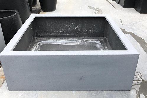 Fiber extra low cubic grijs 73x73x25