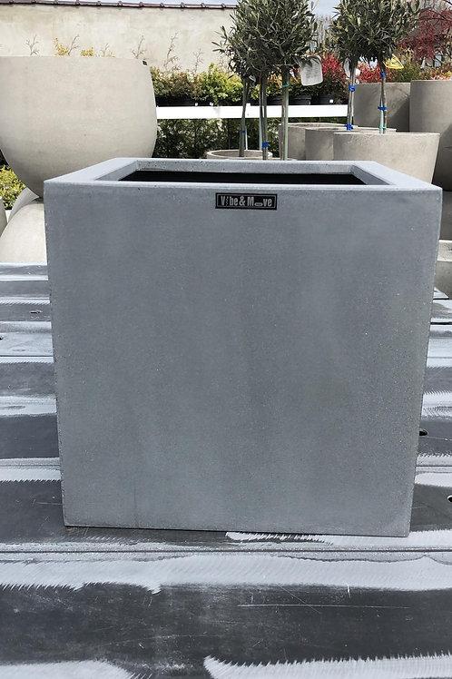 Fiber cubic grijs 30x30x30