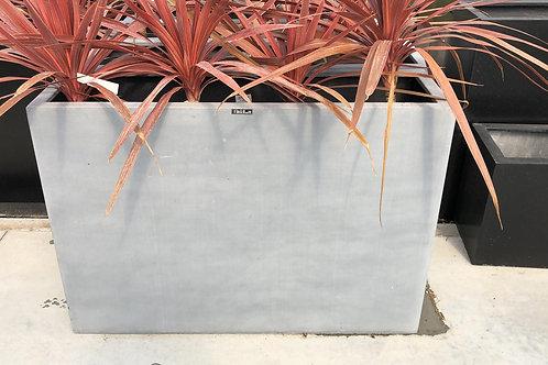 Fiber high flowerbox grijs 100x30x70