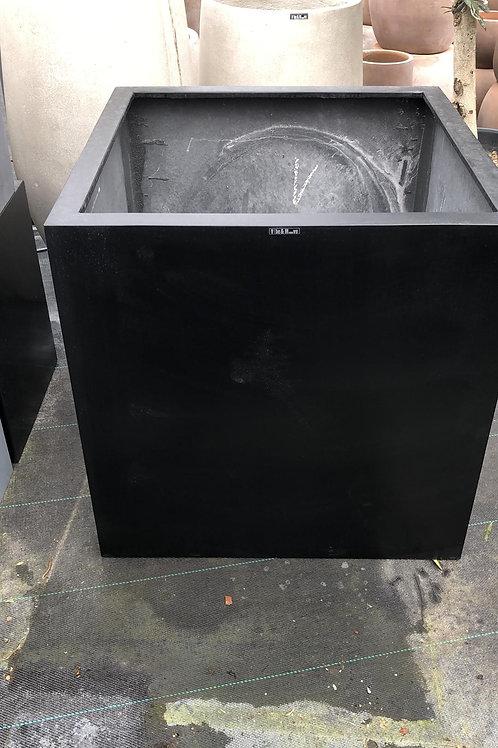Fiber cubic zwart 70x70x70