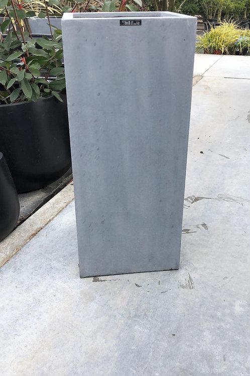 Fiber zuil grijs 30x30x70
