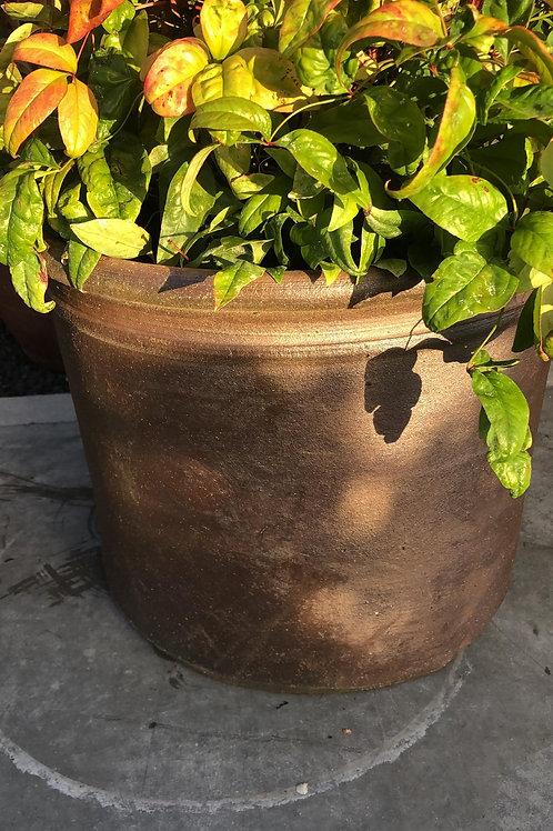Thai cylinder Salt Glazed 38H30