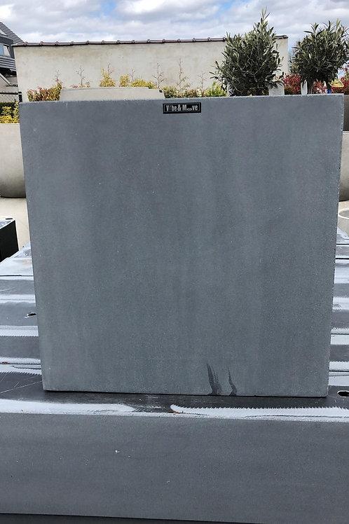 Fiber cubic grijs 40x40x40