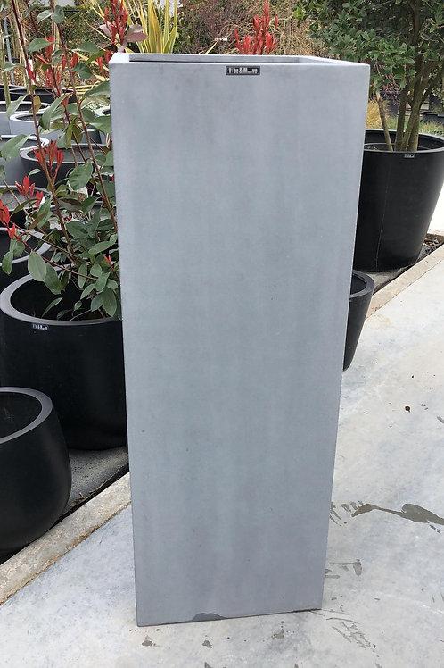 Fiber zuil grijs 35x35x100