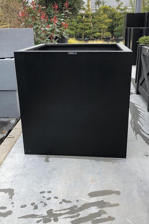 Fiber cubic zwart 60x60x60