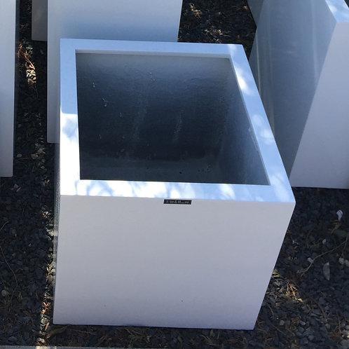 Lakbak vierkant wit 40x40x40