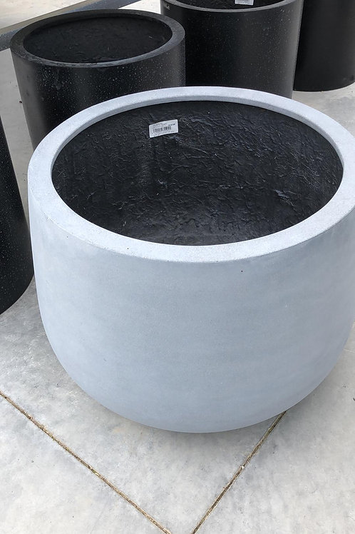 Fiber samu planter grijs 56x40