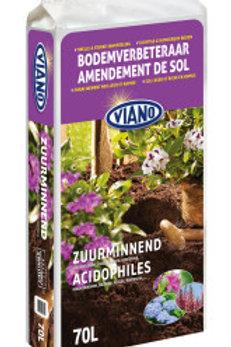 Bodemverbeteraar voor Rododendrons & Zuurminnende planten 70L