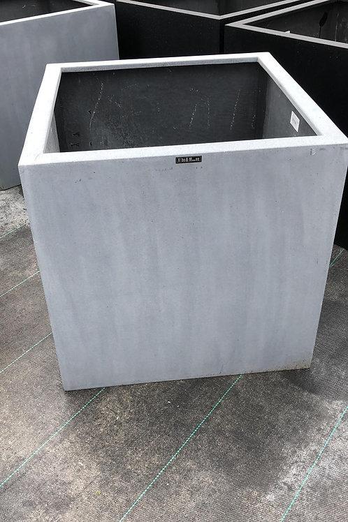 Fiber cubic grijs 60x60x60