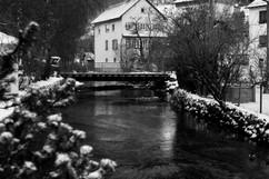 Echaz River, Honau, Germany