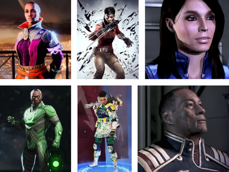 Black Voice Actors in Some of Your Favorite Games.