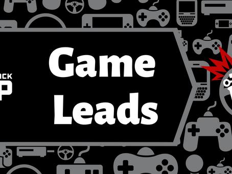 Volunteer Week: Game Leads