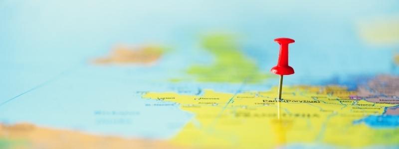 Pin | Map | Brand Visibility | Low Budget Marketing | Skribu Digital | CanvaPro