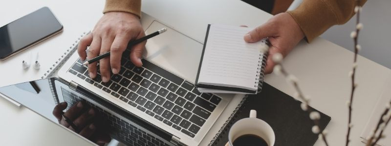 Laptop | Work | Copyright | Notes | Protect Website | Skribu Digital | CanvaPro