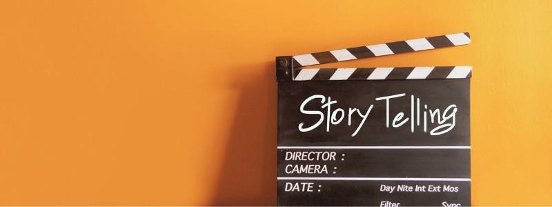 Storytelling sign | Business blog