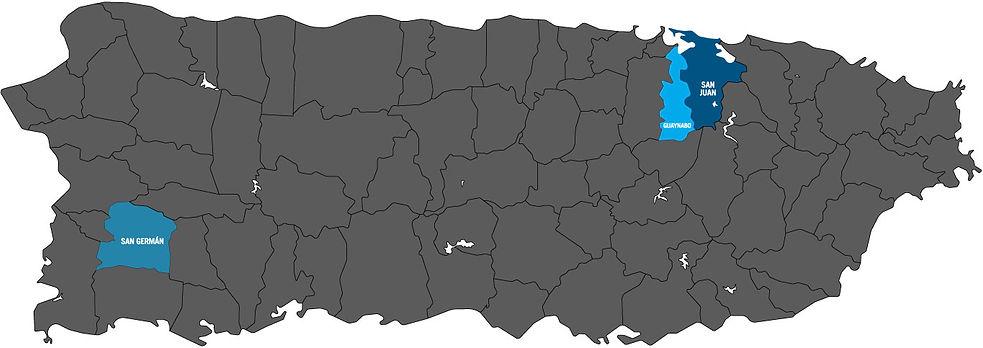 Mapa de PR
