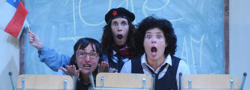 Roxana Naranjo, Nona Fernández and Carmina Riego.