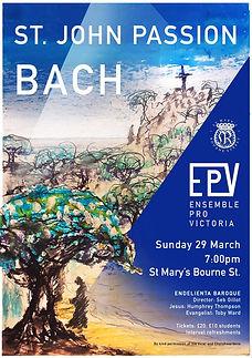 Bach St John Passion