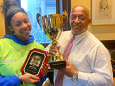 1st place Mayor Young clean up cup