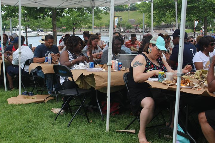 First annual Fundraiser Crabfeast