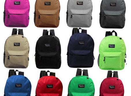 2000 Back Packs for 2000 millenniums