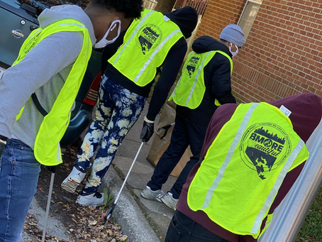Youth-In-Action, a youth led program under the supervision of Let's Thrive Baltimore.