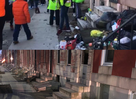 Trash on your block open the app or log in to comment to request a free clean up here