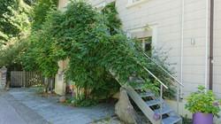 Haus mit Treppe