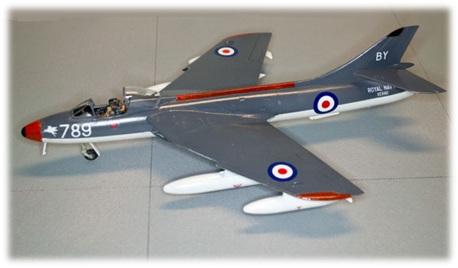 "Hawker Hunter GA11 ""789"", 1:48"