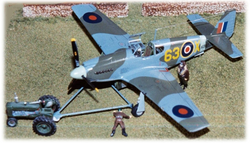 RAF P-51A Mustang I, 400 Squadron; 1:48