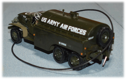 Highly modified GMC CCKW Truck, to a tanker, 1:35