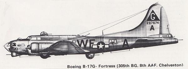 "USAAF B-17G ""297533"", 1:32"