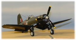 Another view, FAA Corsair IV, 1:48