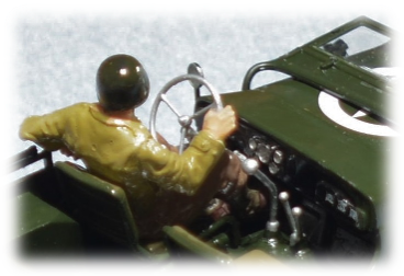 Tamiya 35219 ¼ ton Jeep Willys MB detail, 1:35