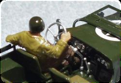 Tamiya 35219 ¼ ton Jeep Willys MB detail, 1:35
