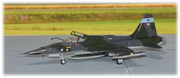 Kinetic F-5A Freedom Fighter conversion to CF-116A 1:48