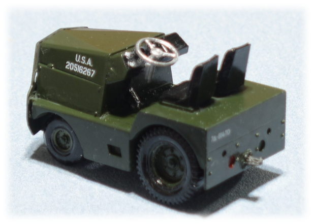 GC-340-4 tow tractor; 1:35