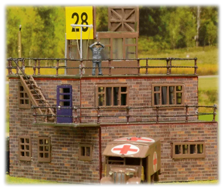 Airfix Airfield Control Tower 1:76