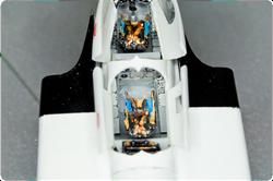 CF-105 cockpit details, 1:48.