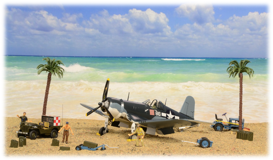 Tamiya Pappy Boyington Corsair F4U-1A, 1:48