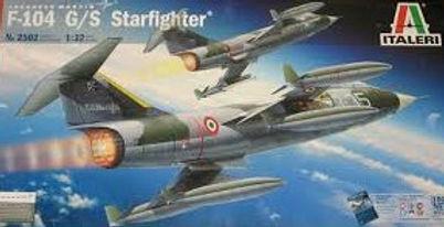 "Italeri CF-104 ""711"", 1:32"