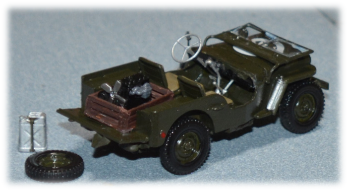 Tamiya 35219 US ¼ ton 4x4 Truck Jeep Willys MB, 1:35