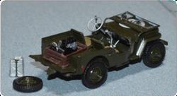 Tamiya 35219 US ¼ ton 4x4 Truck Jeep Willys MB, 1:35