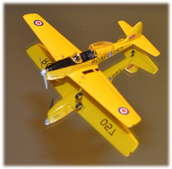 "Lt.Col. (Ret'd) John Lawson's first solo flight, RCAF DH Chipmunk ""057"""