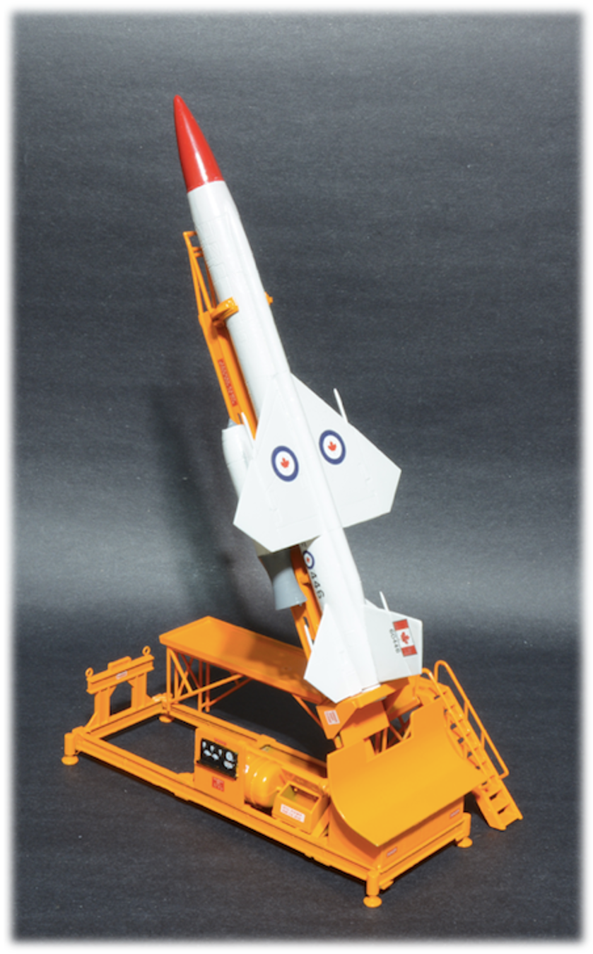 Canadian Bomarc Missile, 1:56