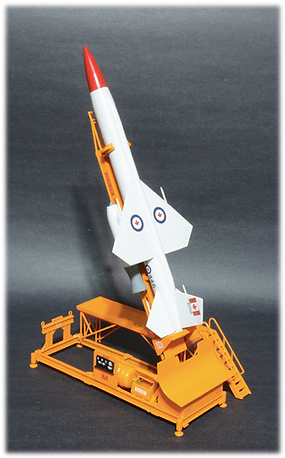Revell Super Bomarc 60446 (RCAF) Ground-to-Air Guided Missile 1:56 scale