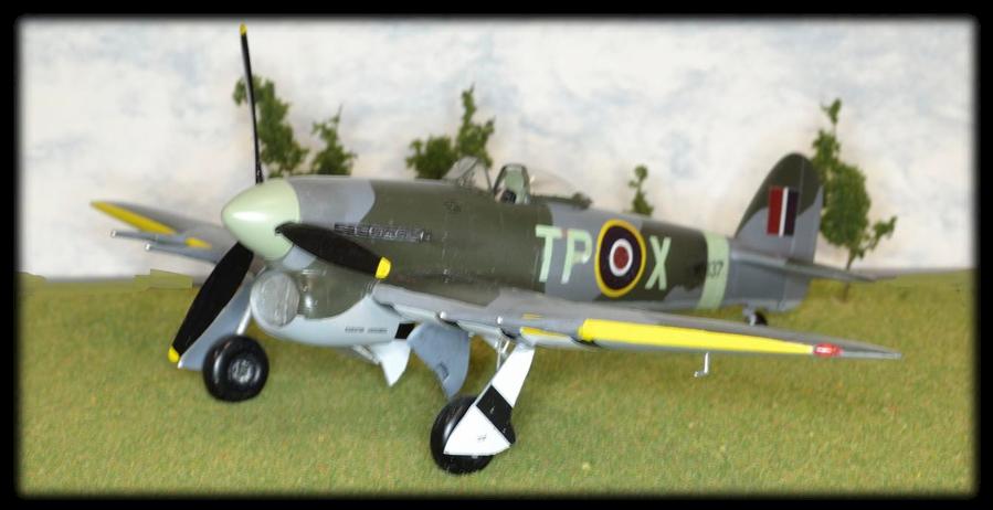 Hawker Typhoon Mk.Ib (late) TP X, MN137, 198 Squadron