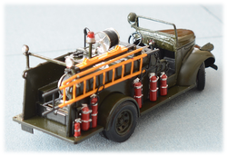 A highly modified GMC 1941 Fire Truck, 1:32