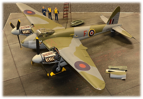 Airfix: F for Freddie Mosquito B.Mk.IX, 1:24