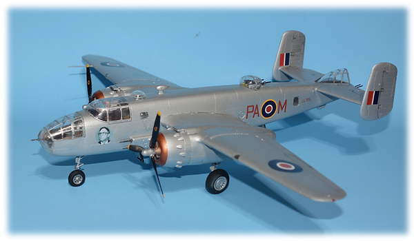 Accurate Miniatures B-25C/D Mitchell Conversion to G 1:48